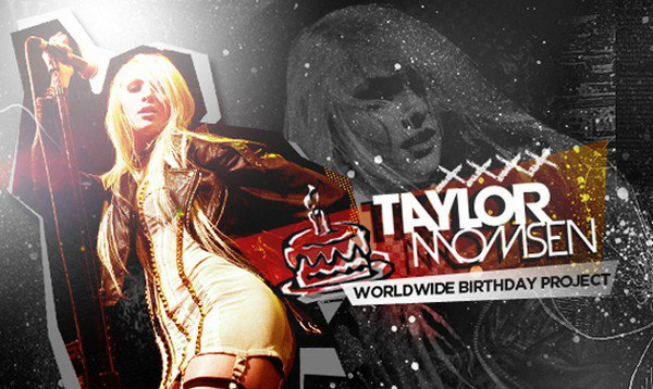 .Participe au projet mondial pour fêter les 18 ans de Taylor !