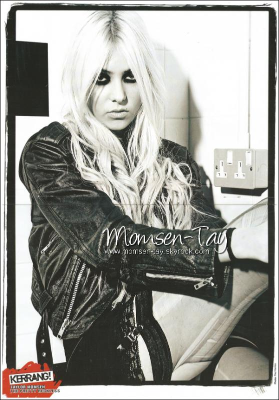 .Scan du magazine Kerrang dans lequel Taylor apparait.