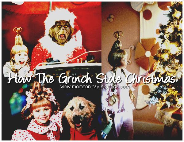 .Découvre ou redécouvre le film qui a lancé la carrière de Taylor... Le Grinch !
