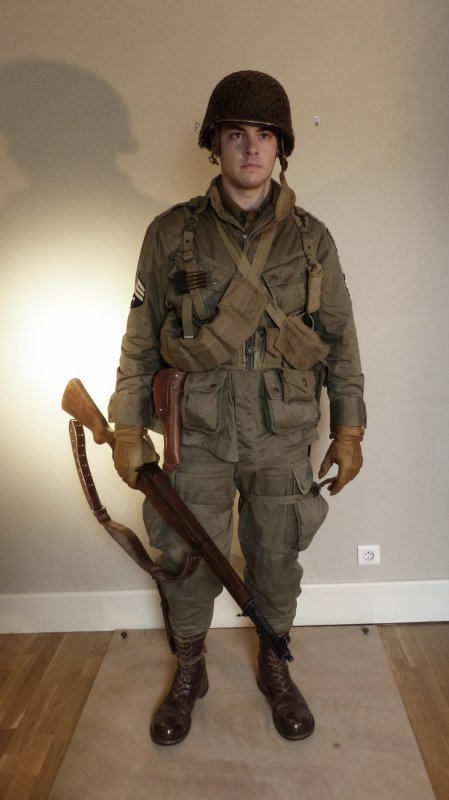 Technician 4th grade - US Paratroopers - Normandie 1944
