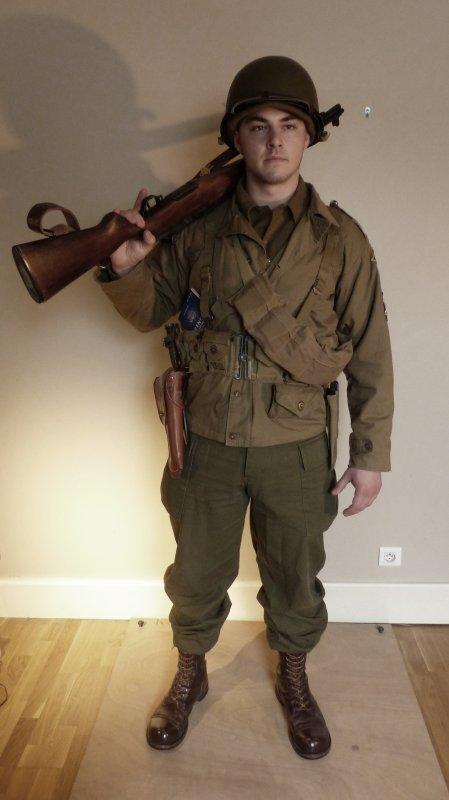 Staff sergeant  - US Rangers - Normandie 1944
