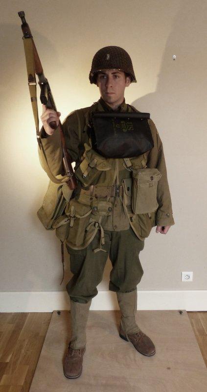 First Lieutenant - US Rangers - Normandie 1944