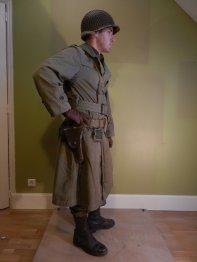 First lieutenant - US Rangers - Sarre 1944-45