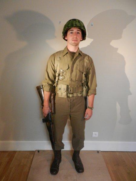 Private - US Rangers - Normandie et Bretagne 1944