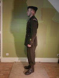 First lieutenant - US Rangers - Belgique 1944