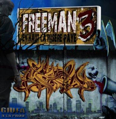 Giufa sur la nouvelle Mixtape de Freeman ( IAM )