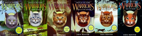 Warriors : Couvertures originales