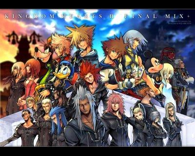 Tous les jeux vidéos kingdom Hearts
