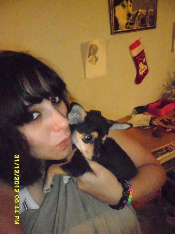 mon chien nala et moii