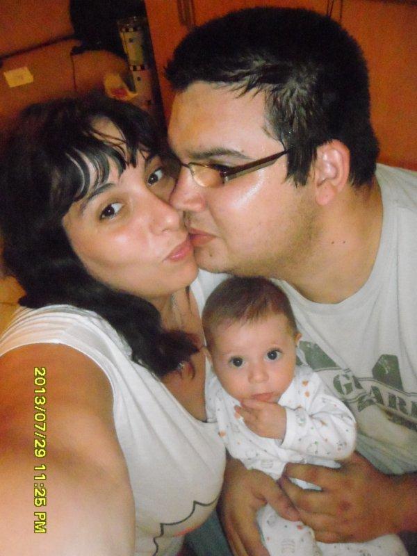 Moi et Mon n'amour et mon bébé d'amour que j'aime tant