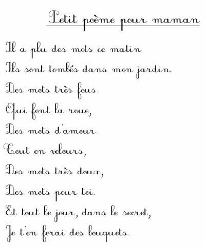 Proverbe Damour Pour Sa Maman Poeme Maman