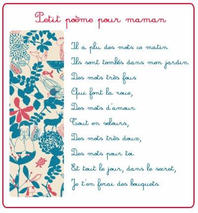 Poeme Pour Maman Ma Mifa