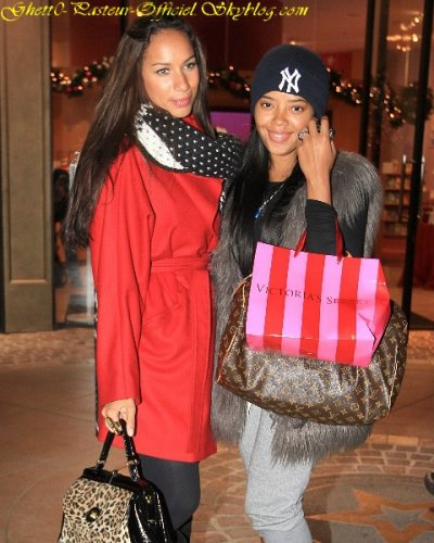 Shopping ; Leona Lewis & Angela Simmons .. !