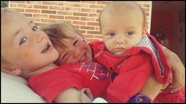 Mes 3 petits monstres ♥