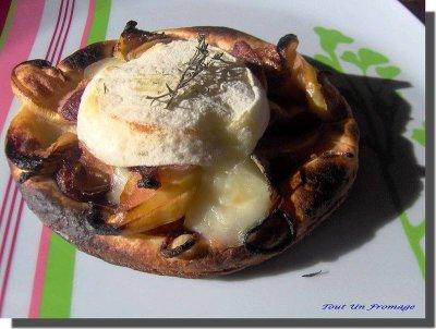 Tartelettes au Rocamadour