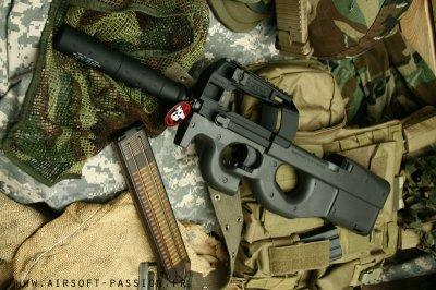| Petite description du P90TR Marui |