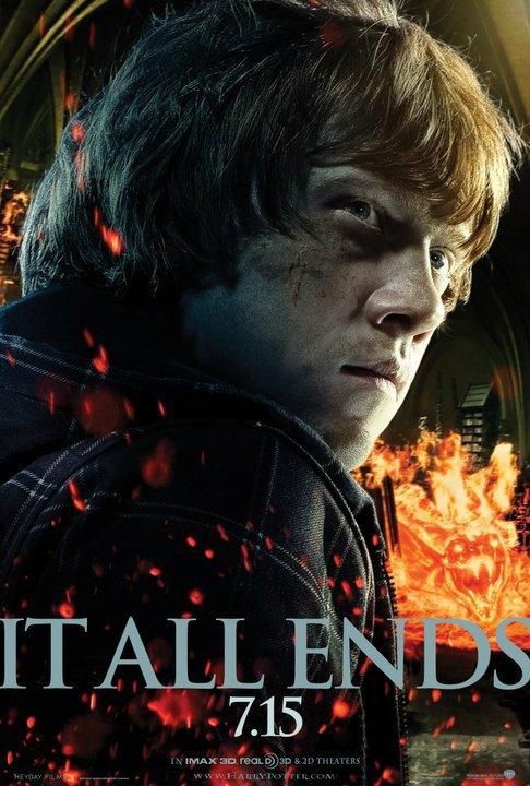 Harry Potter , Hermione Granger, Ron Weasley