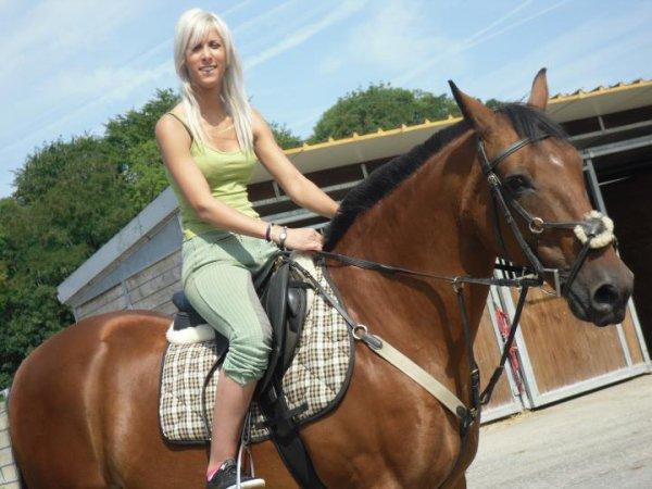 anissa et sa jael son cheval