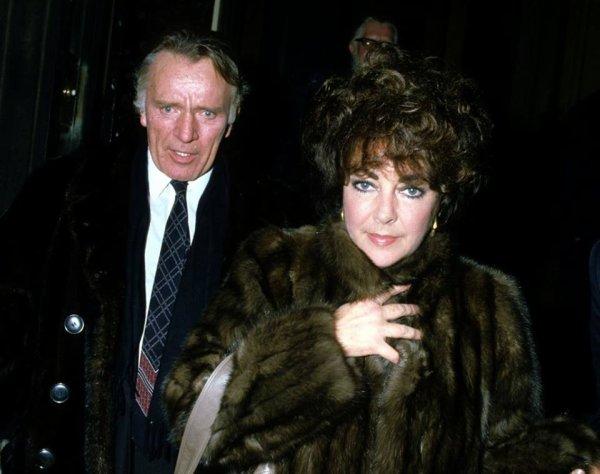 Elizabeth TAYLOR et Richard BURTON en 1983.
