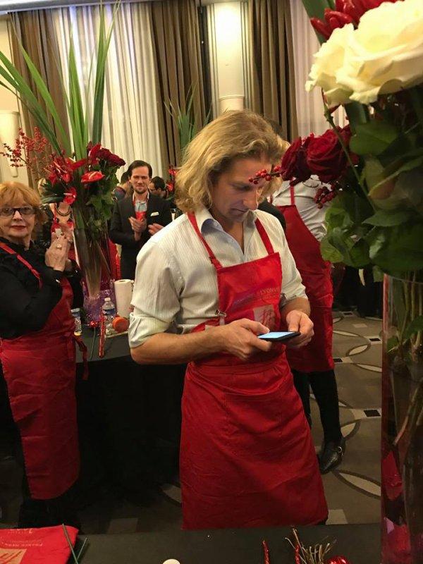 Gwendal à un concours floral