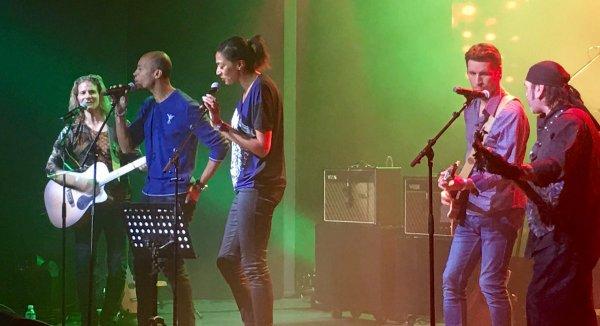gwendal en concert aux étoiles du sport