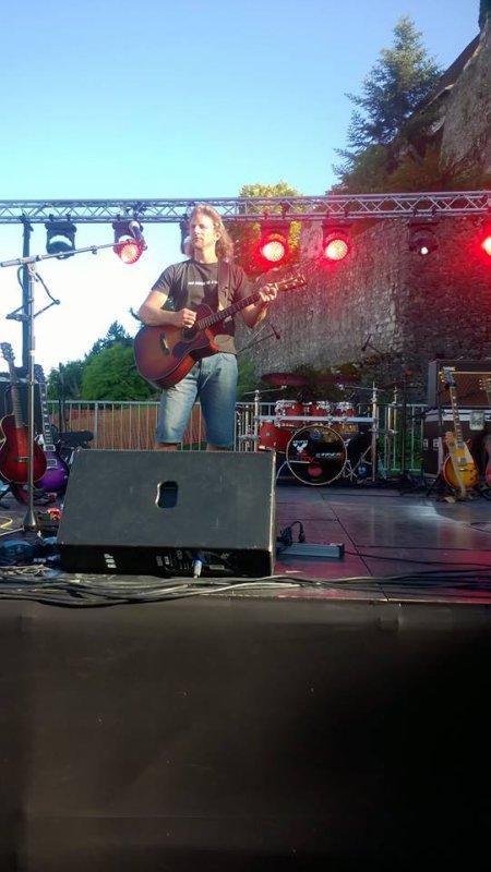 gwendal au  festival de Morestel part 1