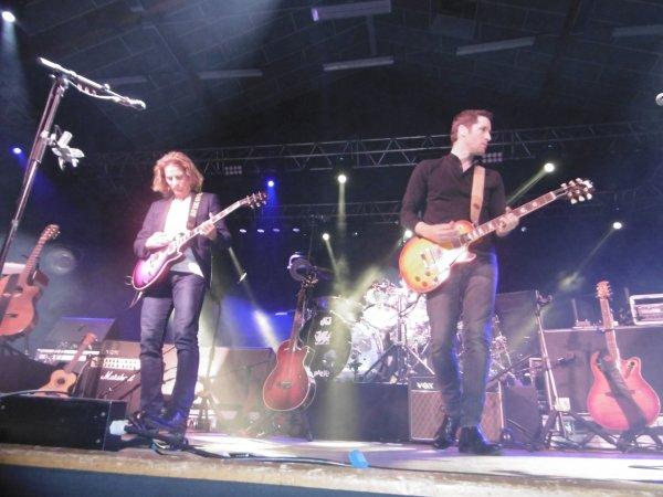Gwendal en première partie du  concert de Michael Jones part 5