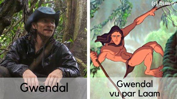 Gwendal Peizerat dans THE ISLAND 2
