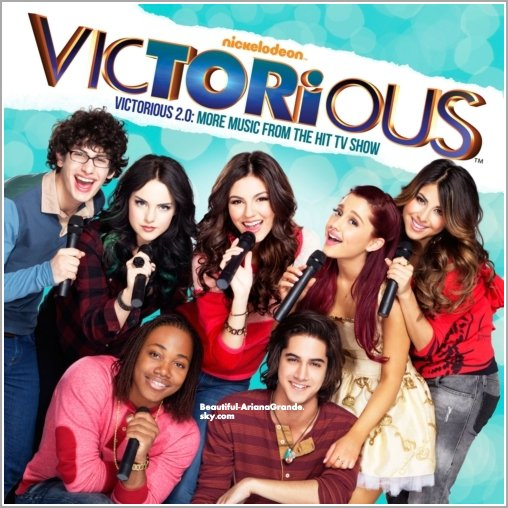 Découvrer la pochette de l'album de Victorious