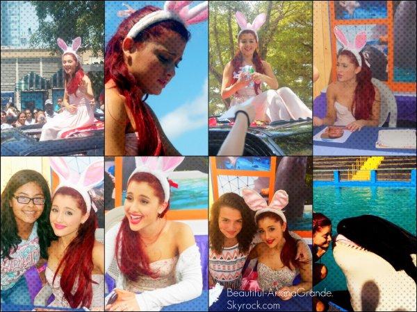 Notre Fabuleuse Ariana était à la Seaquarium de Miami le 9/04/2012