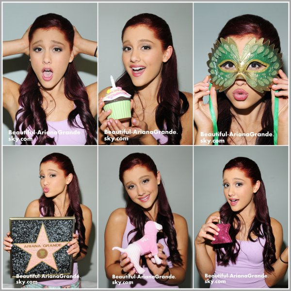 Voici un photoshoot d'Ariana par Michael Simon