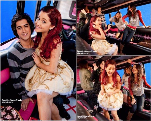 Découvrez des photos d'Ariana pour le nouvel épisode de Victorious