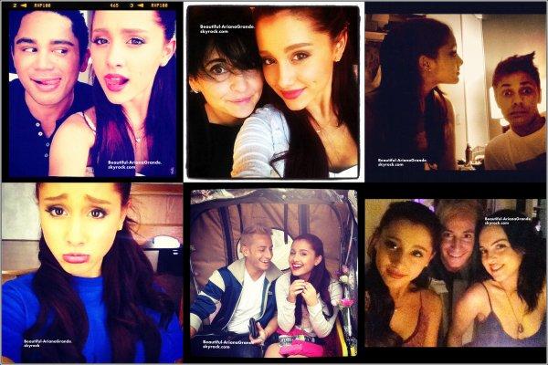 Voici Les dernières photos provenant du twitter d'Ariana ( Deiisollei pour le retard de new's mais je vais essayer de me rattraper ;a )