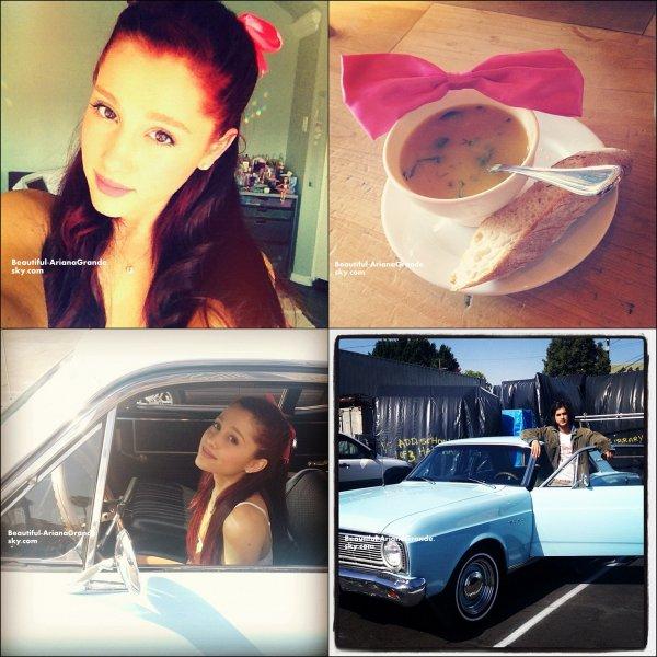 Ariana a postée des photos sur son compte twitter