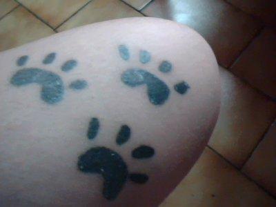 Tatto pattes !!!!!
