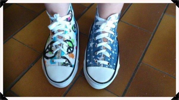Des chaussures trompeuses....
