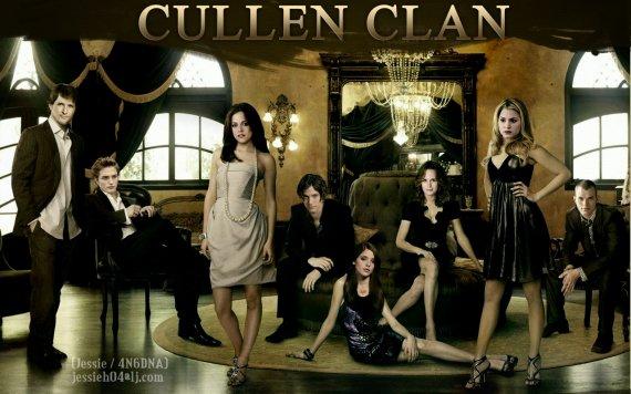 le clan des Cullen