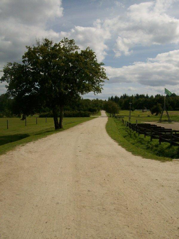 Parcours au départ du site équestre