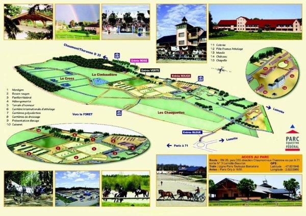 Plan du Parc Equestre