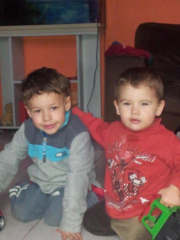 Loulou & son copain Luka ♥