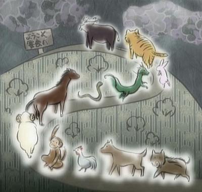 La petite histoire de des animaux du zodiaques
