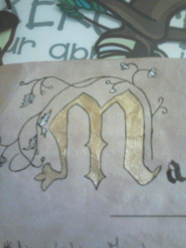 Enluminure M