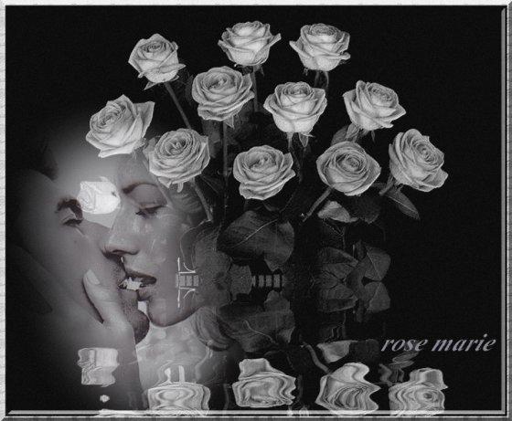 Bonne Soirée vers Vous Bisous Rose