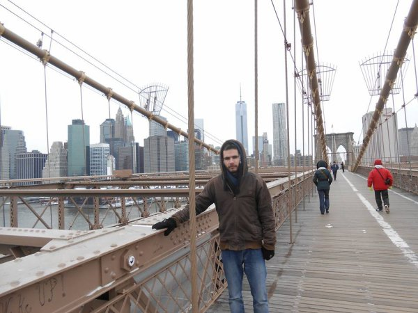 Moi à New York