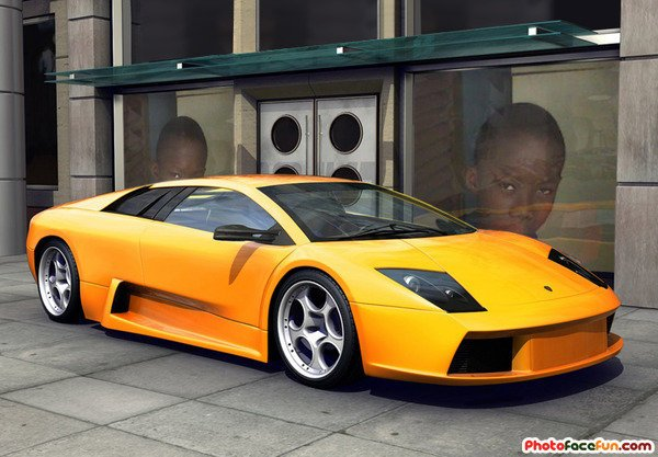 Jonathan et sa Lamborghini
