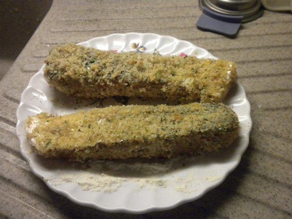 154ème recette : Filets de saumon panés