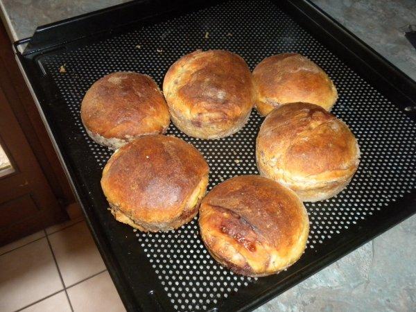 157ème recette : Briochettes à la framboise