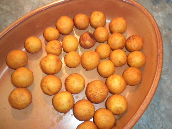 161ème recette : Pommes Dauphines maison