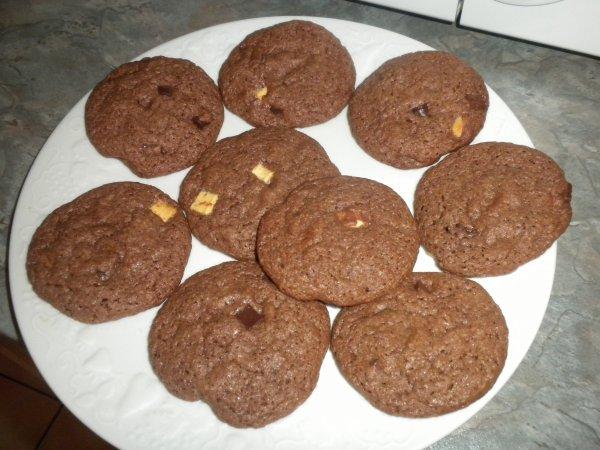 165ème recette : Cookies choco aux pépites Chuncks