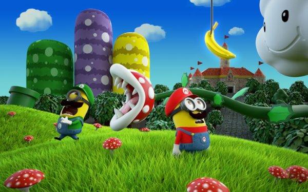 Minion en Mario